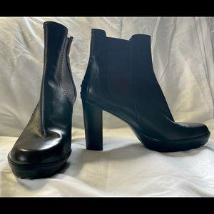 Dark Brown Tod's Boots